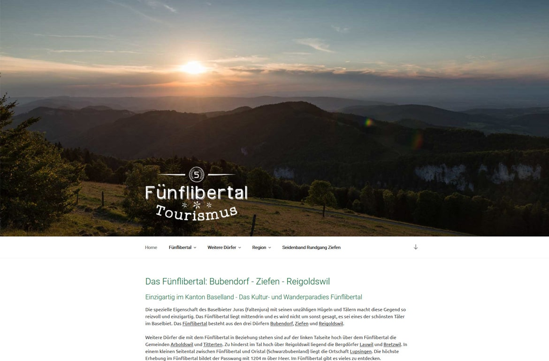 Linktipp: Fünflibertal Tourismus