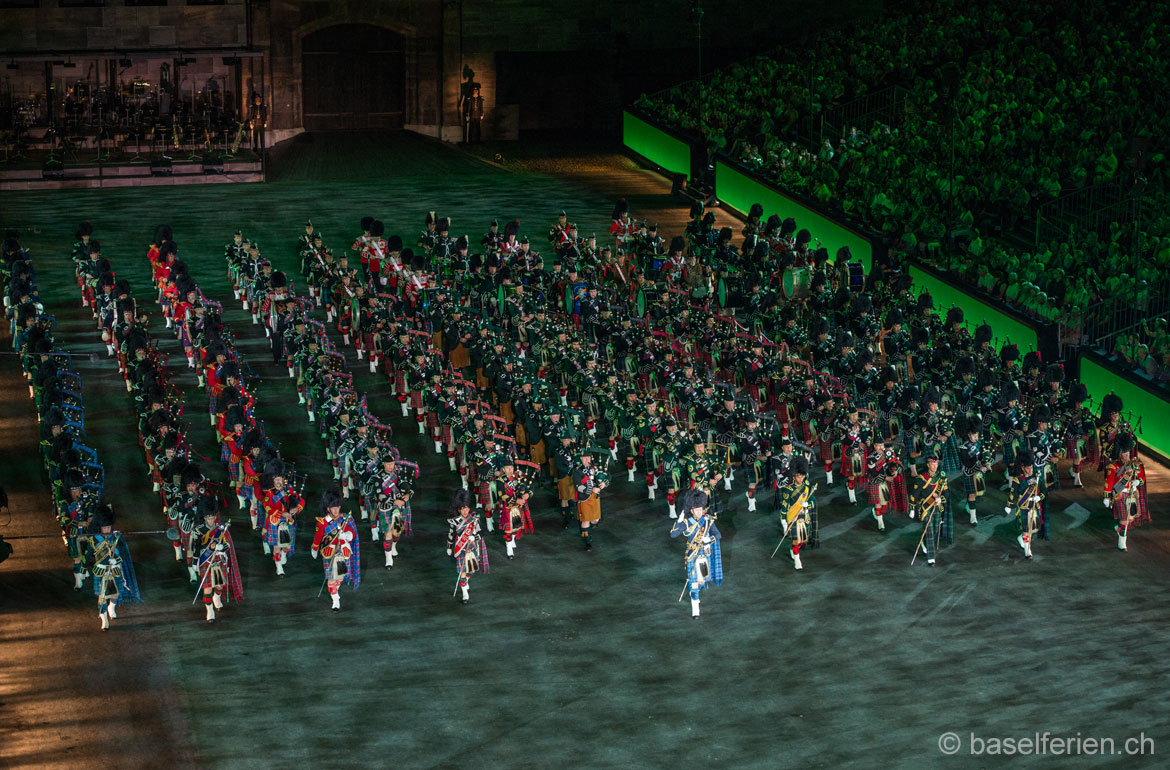 Basel Tattoo 2013