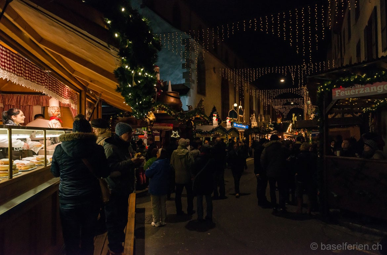 Basler Weihnachtsmarkt 2013