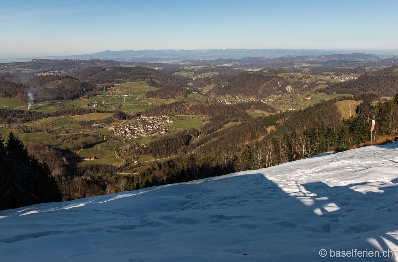 Bergwanderung Lauwil – Ulmethöhe